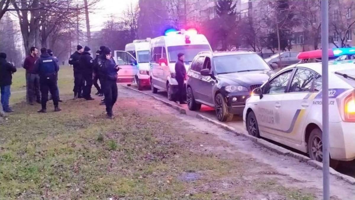 Во Львове устроили стрельбу и похищение человека: детали