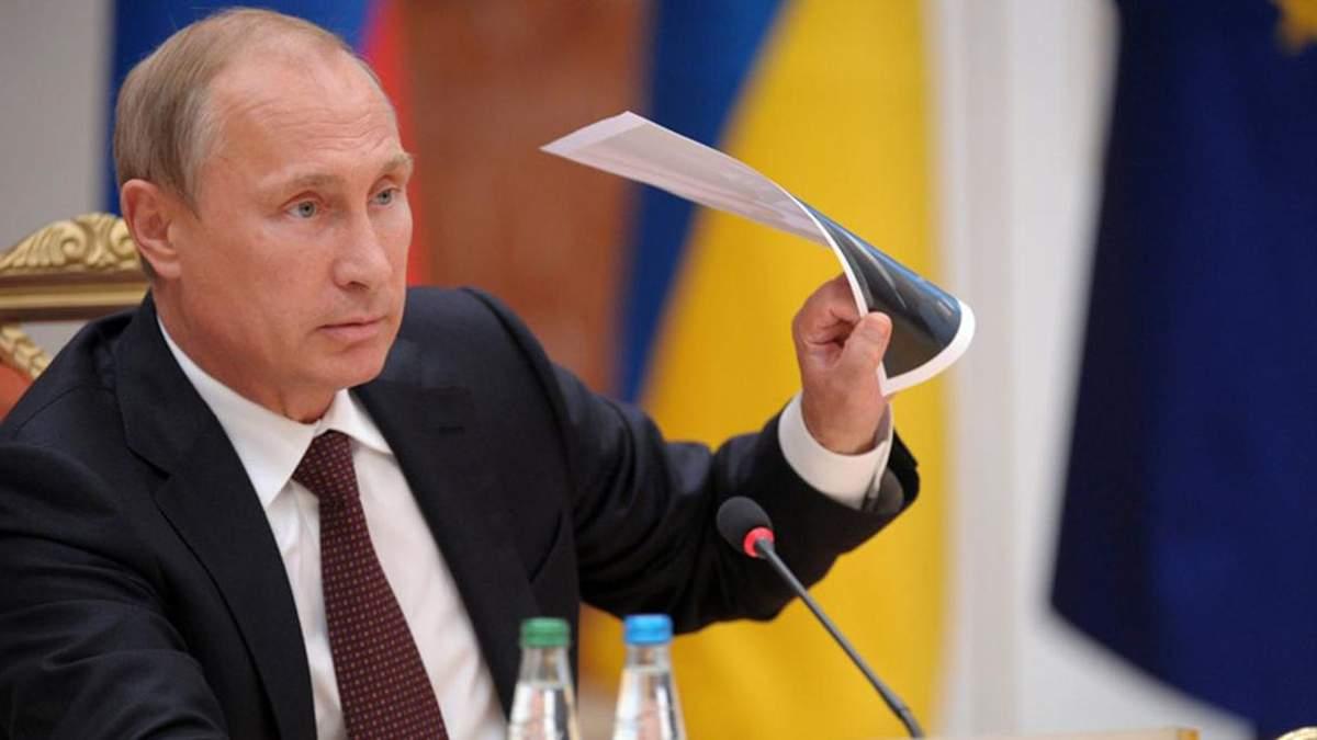 Володимир Путін заговорив про українців
