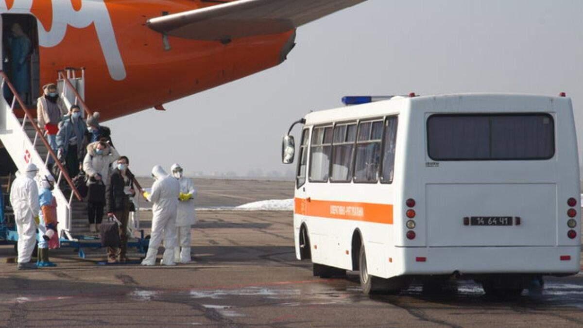 Евакуація українців з Китаю