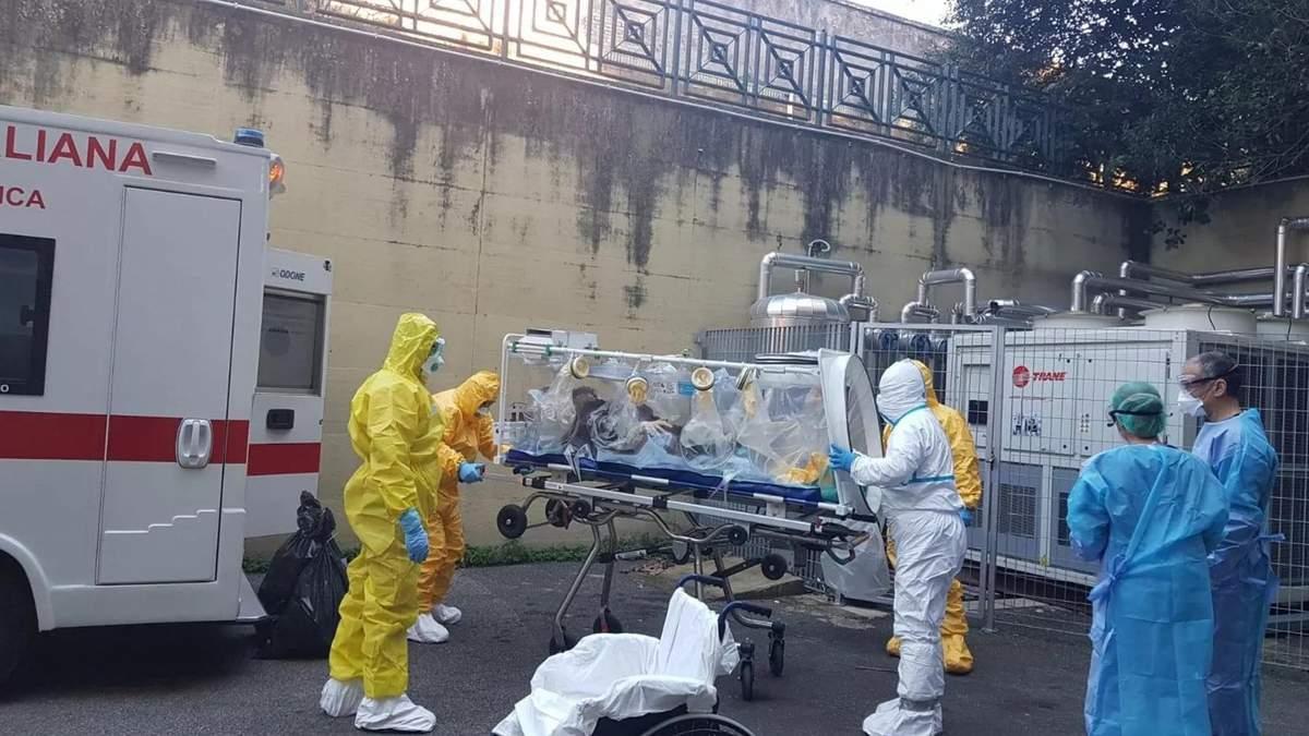 В Италии зафиксировали первую смерть человека от коронавируса: в целом это уже второй такой случай в Европе