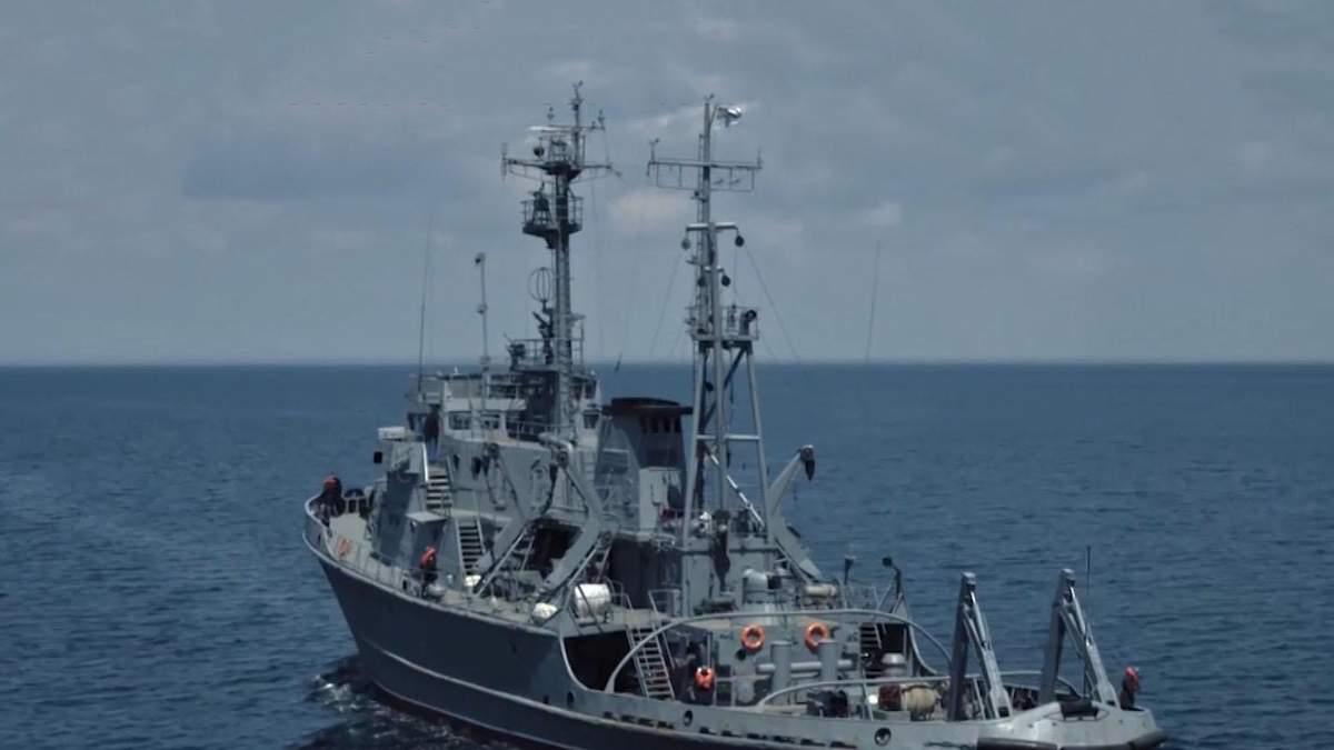 """Единственный корабль, с которого не сняли украинский флаг: все о захвате тральщика """"Черкассы"""""""