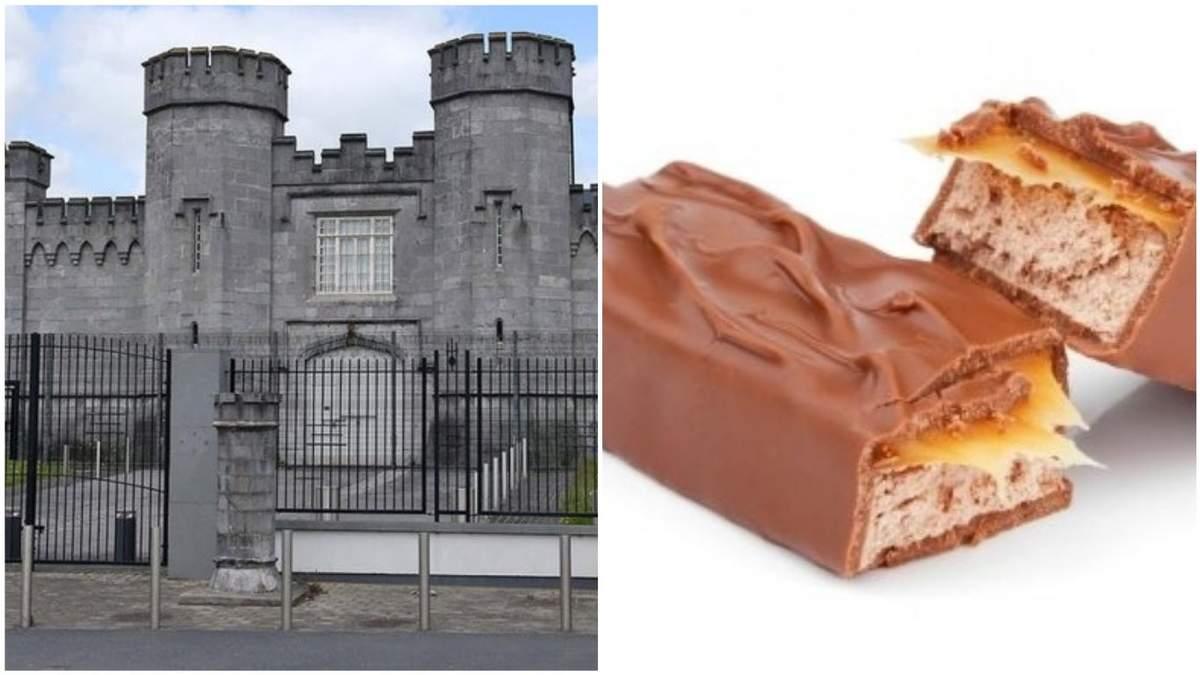 Бунт у в'язниці Ірландії: в'язень обміняв зброю на батончик