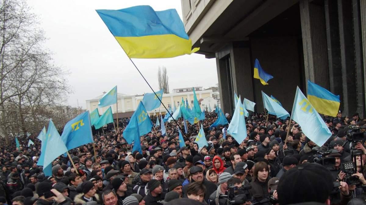 26 февраля признали Днем сопротивления Крыма российской оккупации: Зеленский подписал указ