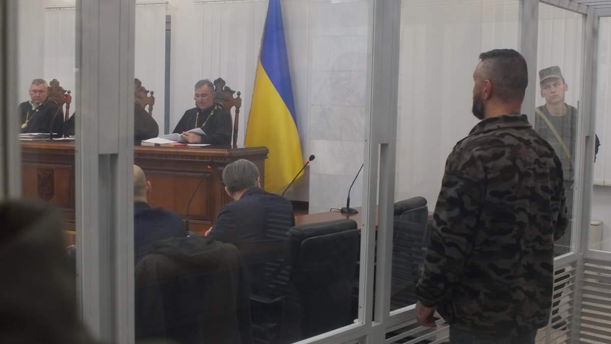 Андрій Антоненко у суді щодо справи Павла Шеремета