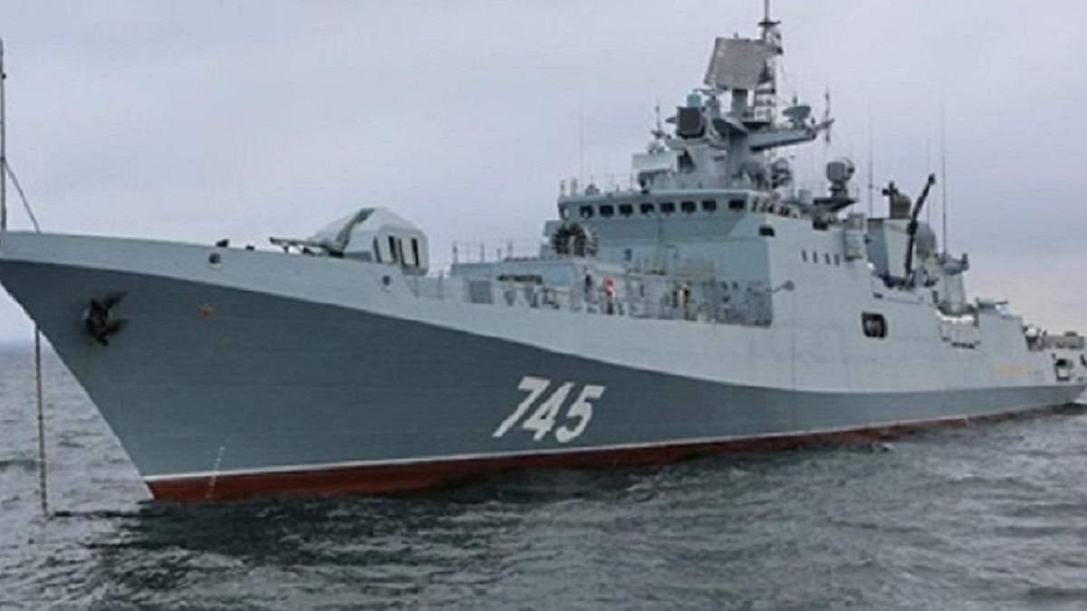 Россия ведет два фрегата к берегам Сирии