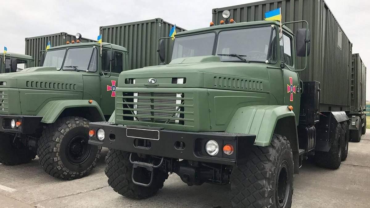 Для украинской армии закупят бани на колесах: фото