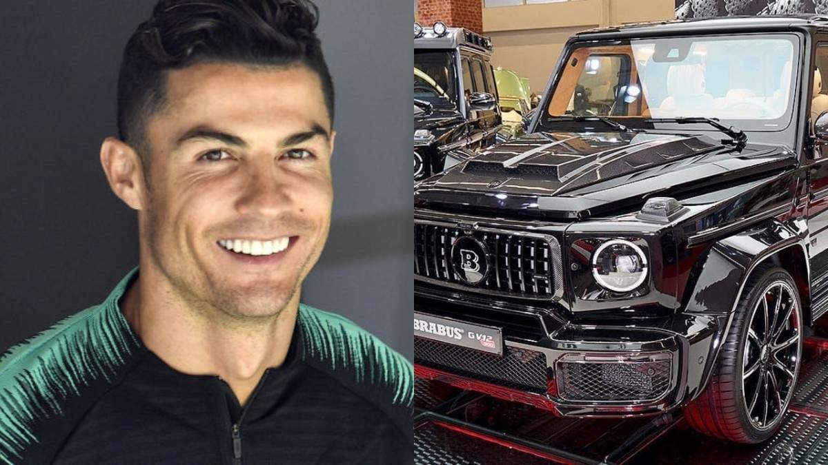 Подружка Роналду подарувала футболісту ексклюзивне дороге авто: фото потужного позашляховика