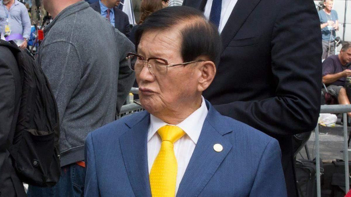 Основатель религиозной организации Ли Ман Хи
