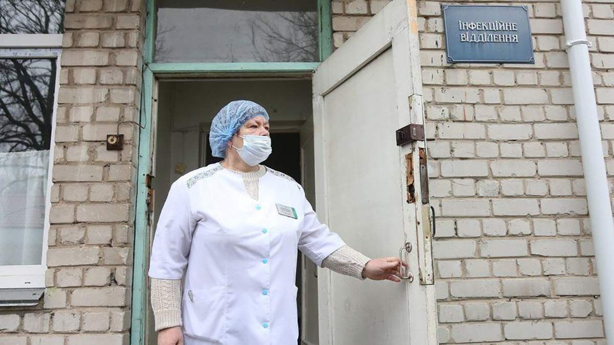 Що відомо про стан здоров'я українця з коронавірусом?