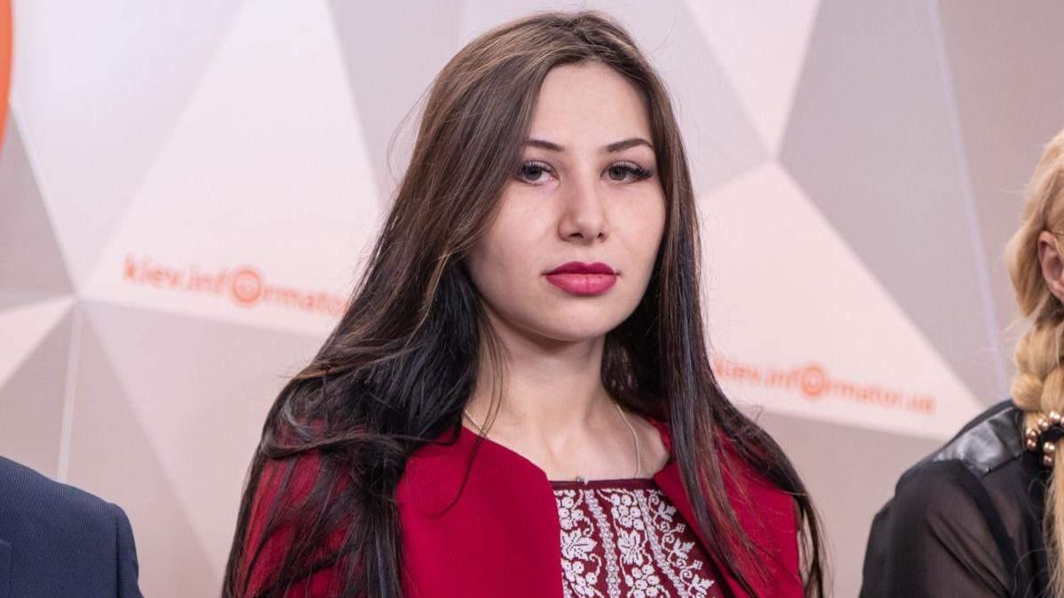 Жена екснардепа Сергея Мельничука Мила