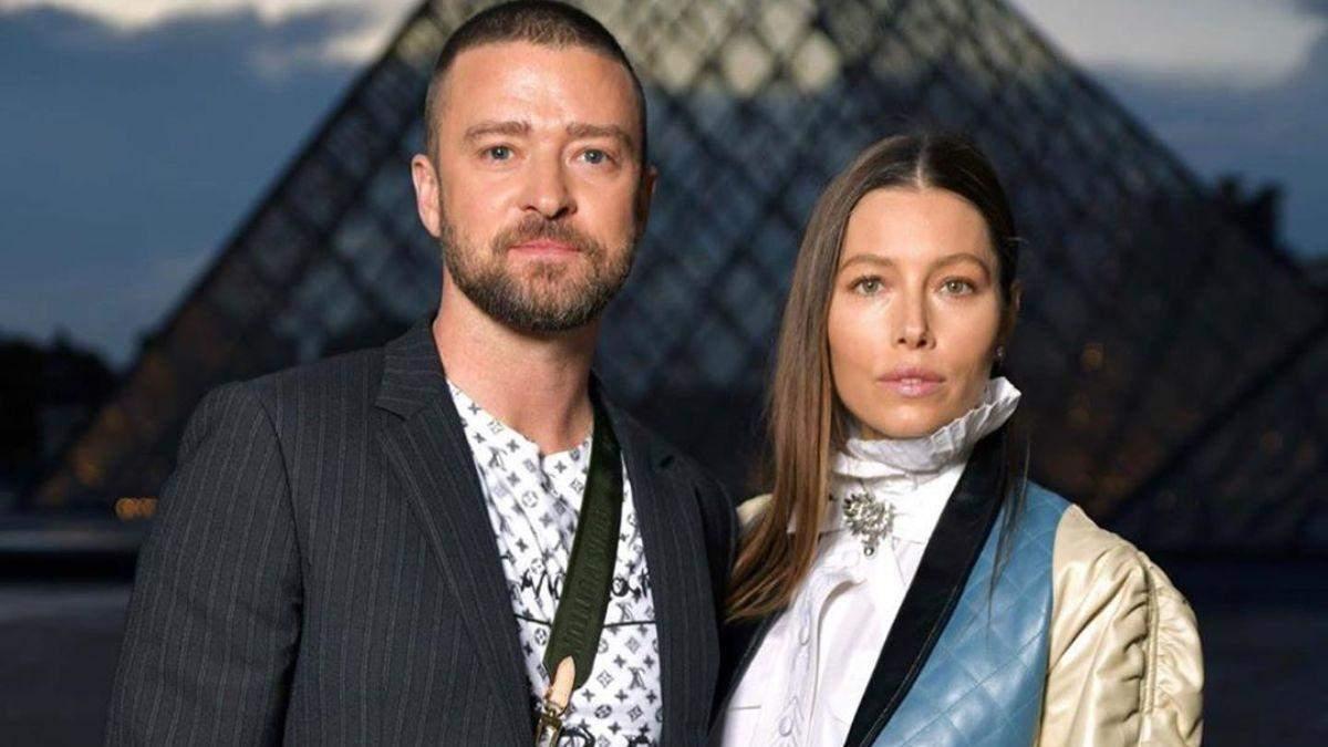 Джастін Тімберлейк та його дружина