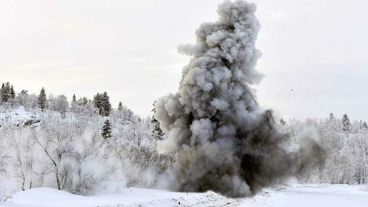 У Мурманській області Росії під час навчань вибухнув боєприпас: 6 військових постраждали