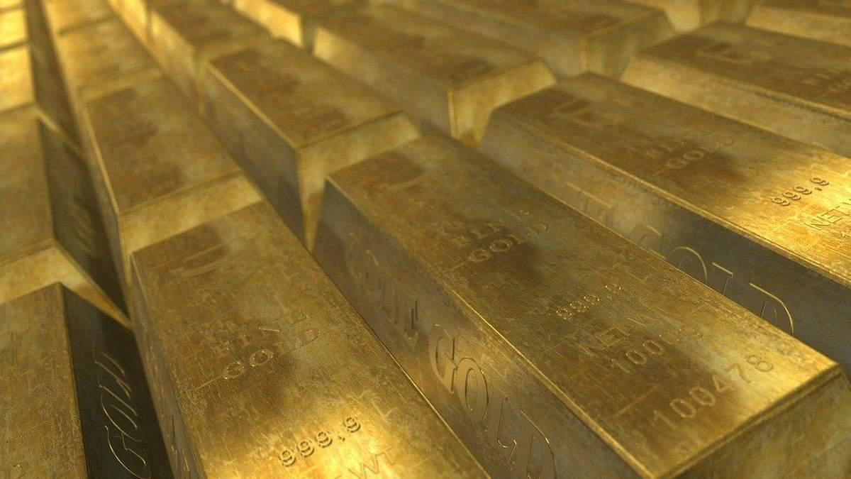 Цена золота снизилась
