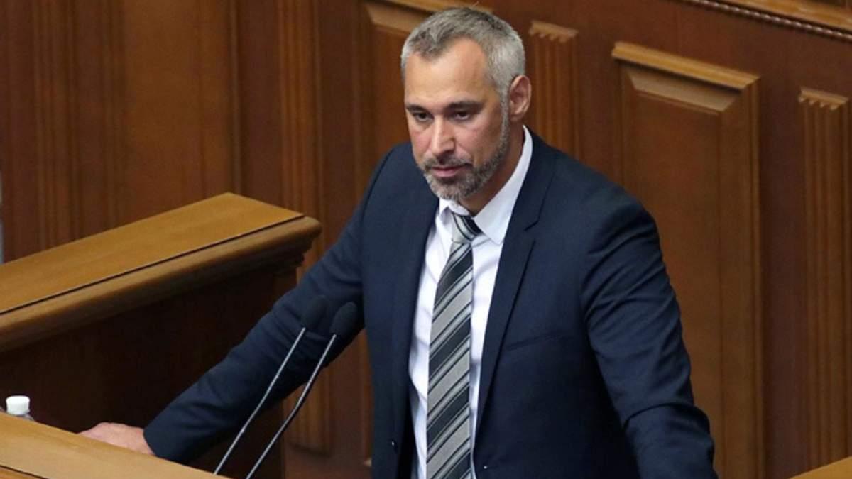 Руслан Рябошапка после эмоционального выступления покинул зал Верховной Рады