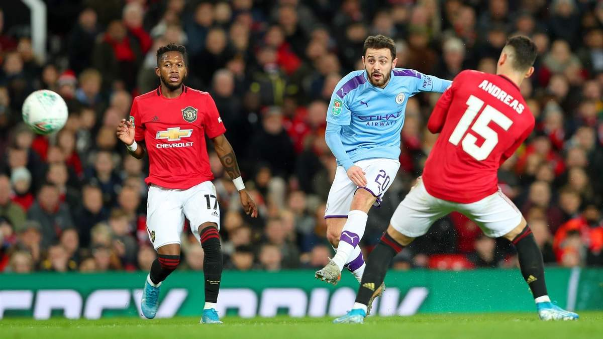 Манчестер Юнайтед – Манчестер Сіті: дивитися онлайн матч 08.03.2020