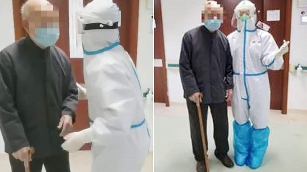101-річний китаєць за тиждень вилікувався від коронавірусу