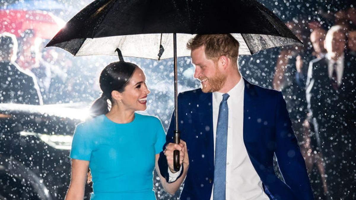 Принц Гарри и Меган Маркл в Лондоне