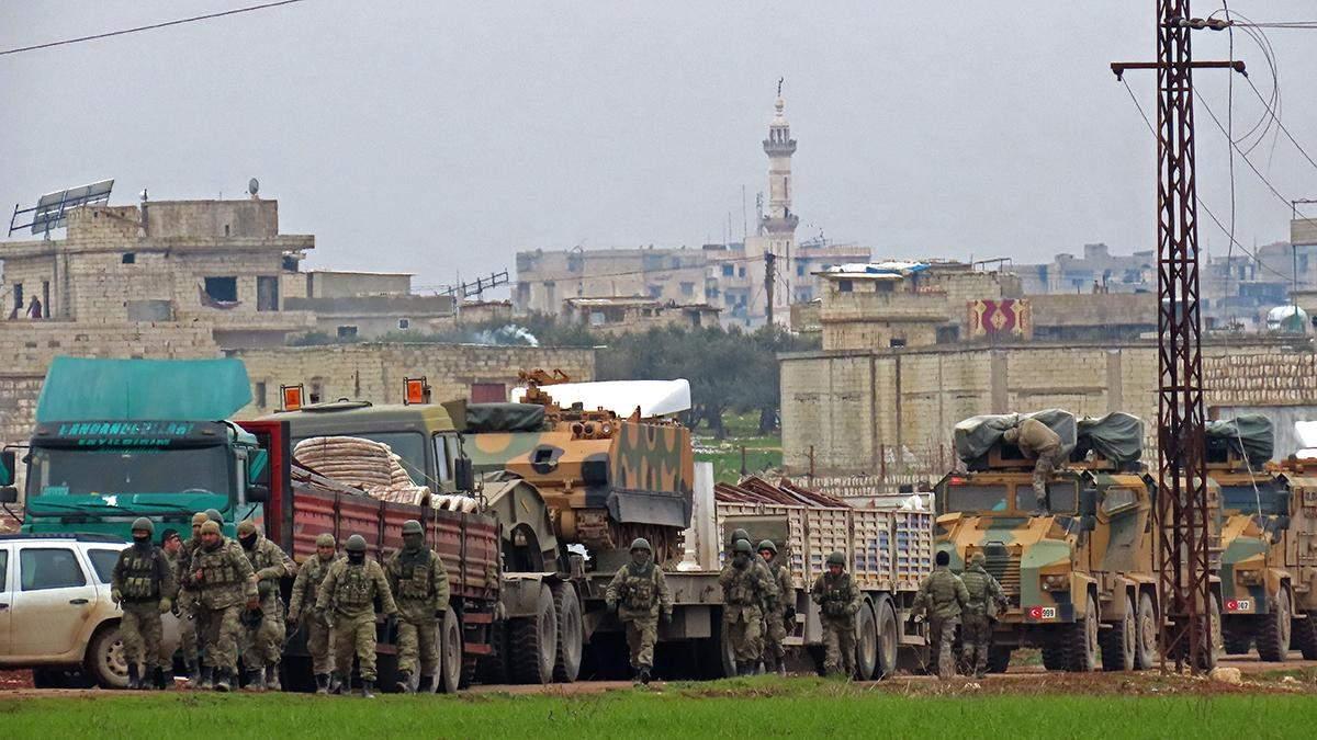 Туреччина перед початком перемир'я атакувала війська Асада