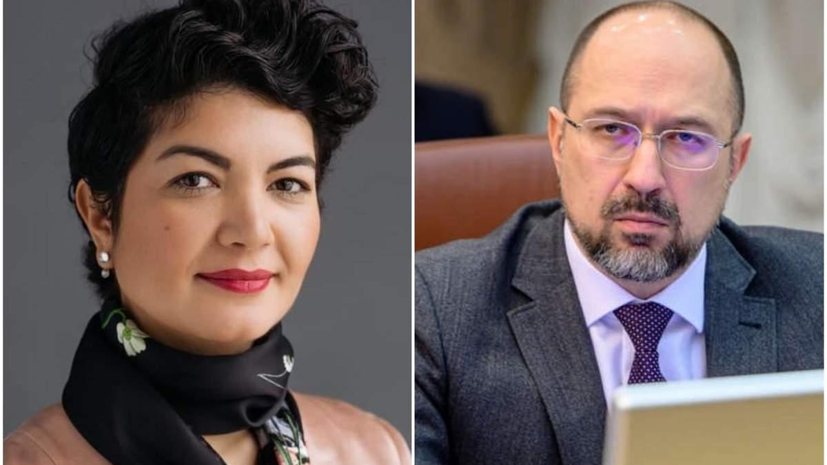 Ташева прокоментувала заяву Шмигаля про воду в Крим