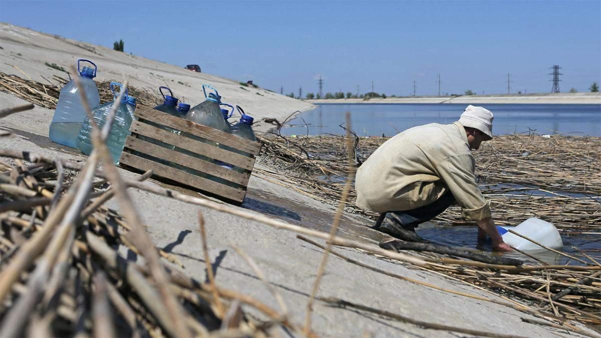 В окупованому Криму відреагували на слова Шмигаля про постачання води