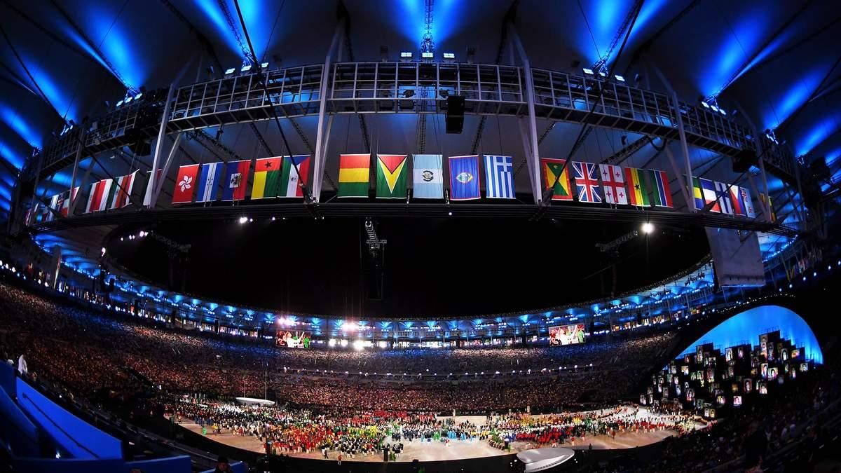 Церемонія відкриття Олімпіади