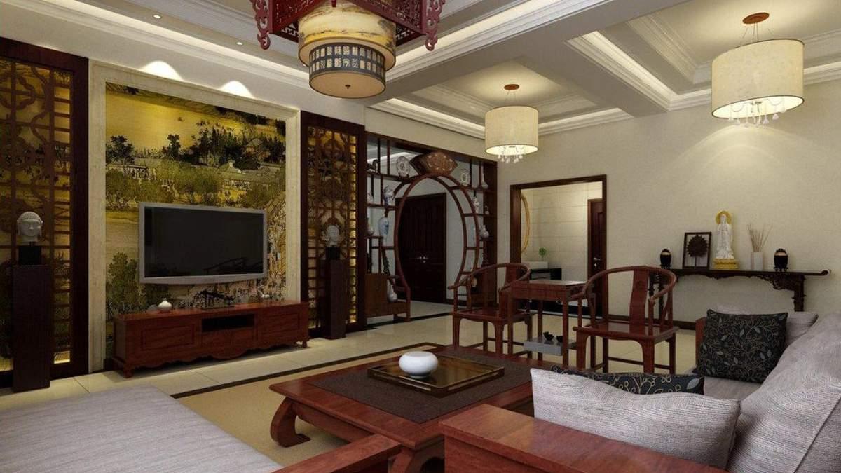 Стіни в азійських будинках зазвичай мають альтернативні способи облицювання