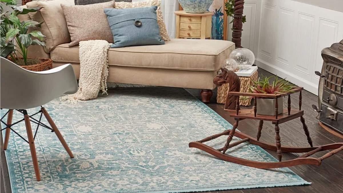 Як підібрати килим у кімнату – види, матеріали, стилі килимів