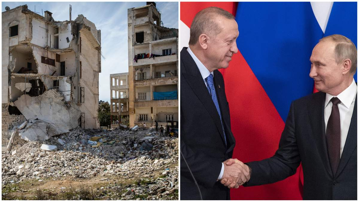 Путін та Ердоган домовилися про припинення вогню в Сирії з 6 березня