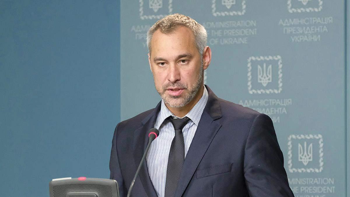 "Чумак заявив, що Рябошапку звільнили через ""один великий банк"""