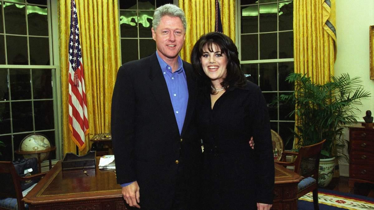 Білл Клінтон розповів про причини свого роману з Монікою Левінські