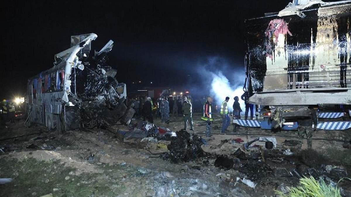 Внаслідок ДТП з бензовозом у Сирії загинули 32 людей
