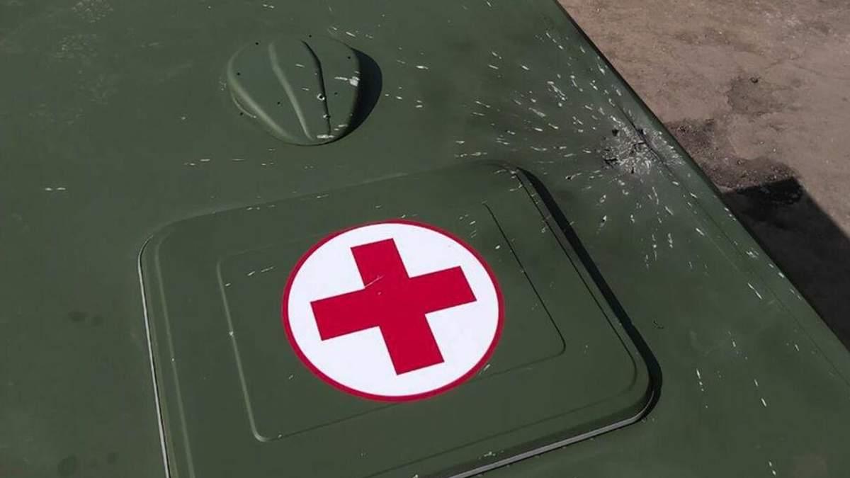 Авто обстріляли біля Гнутового