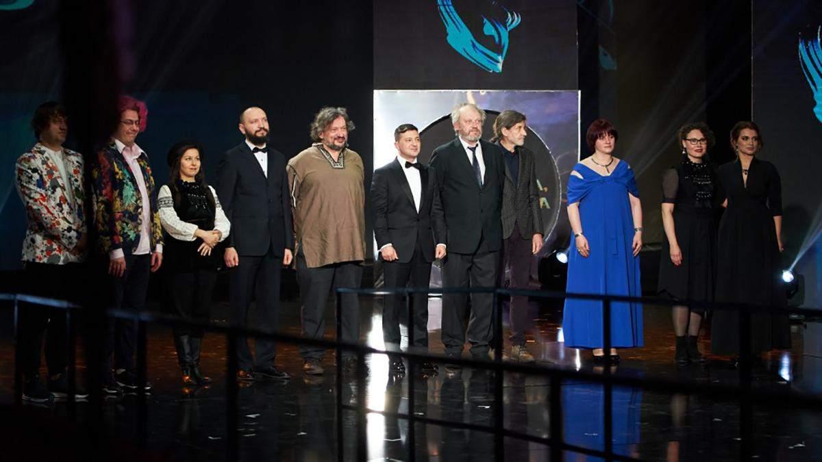 Лауреати Шевченківської премії 2020
