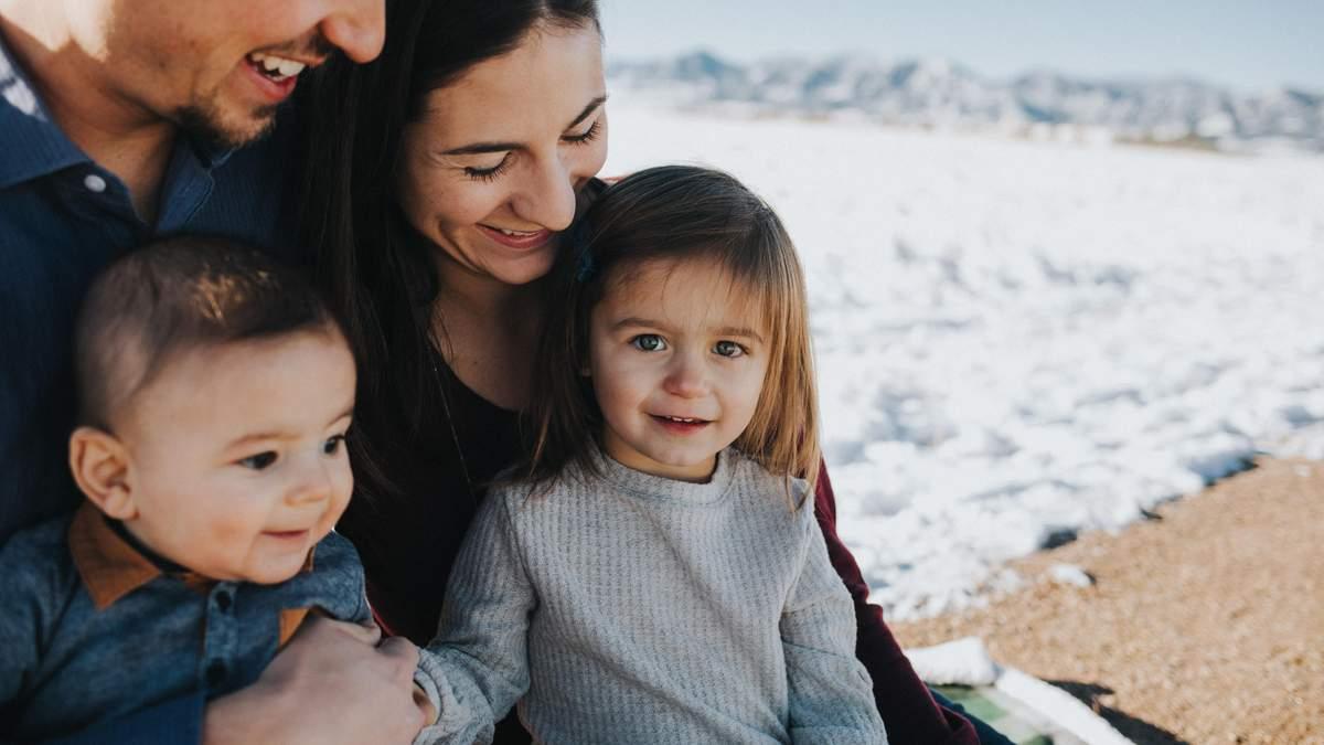 Щаслива та любляча сім'я