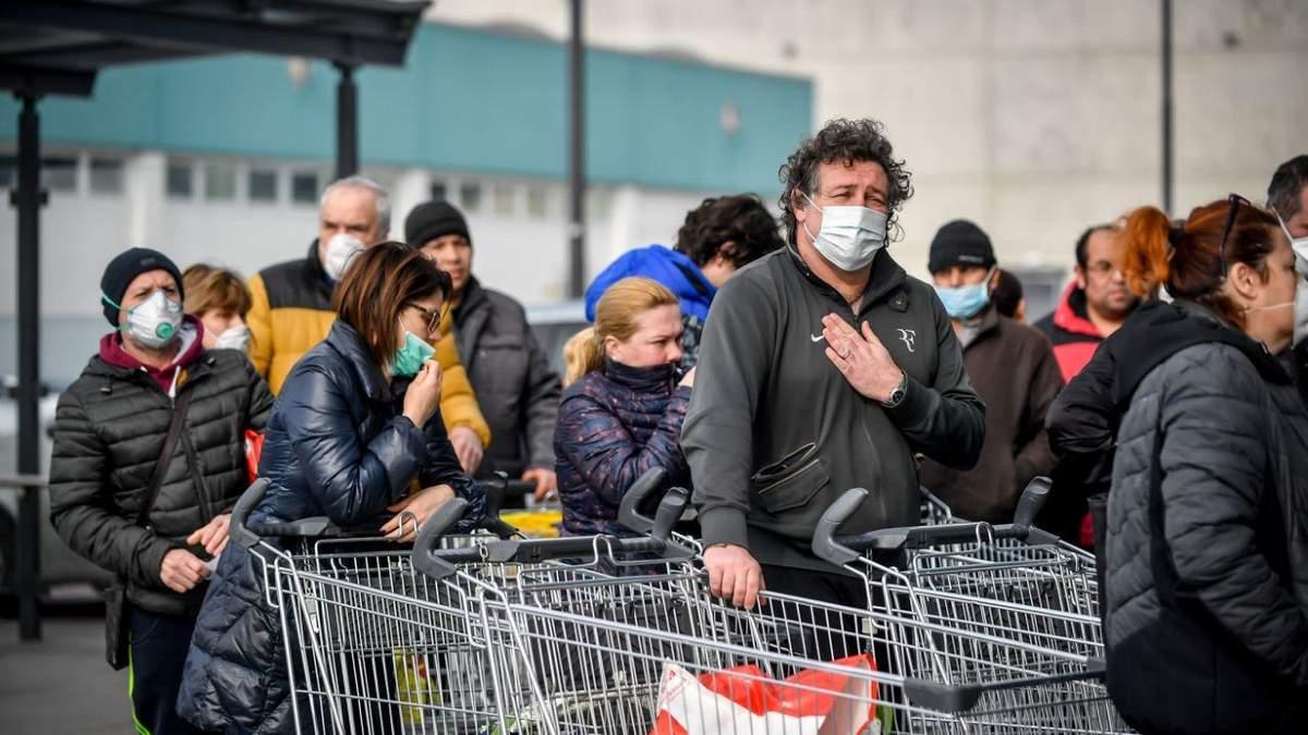 Італія – друга країна після Китаю, де найвищі показники поширення коронавірусу