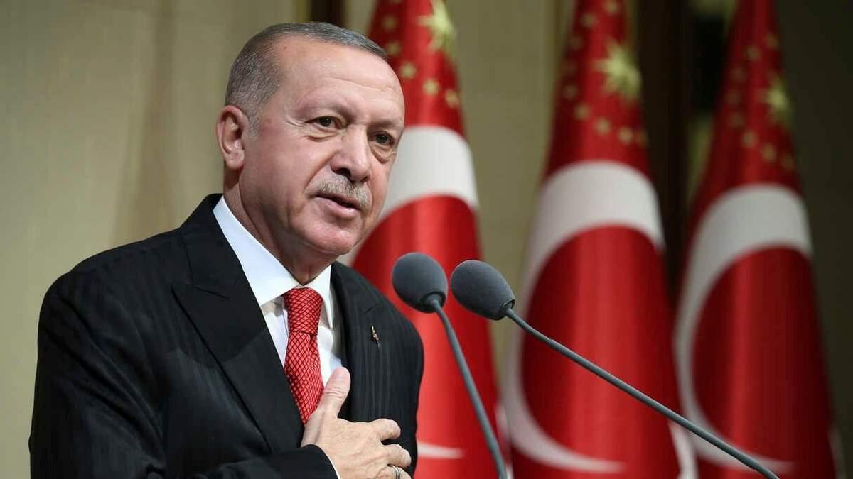Ердоган відмовився від рукостискань під час візиту до Бельгії