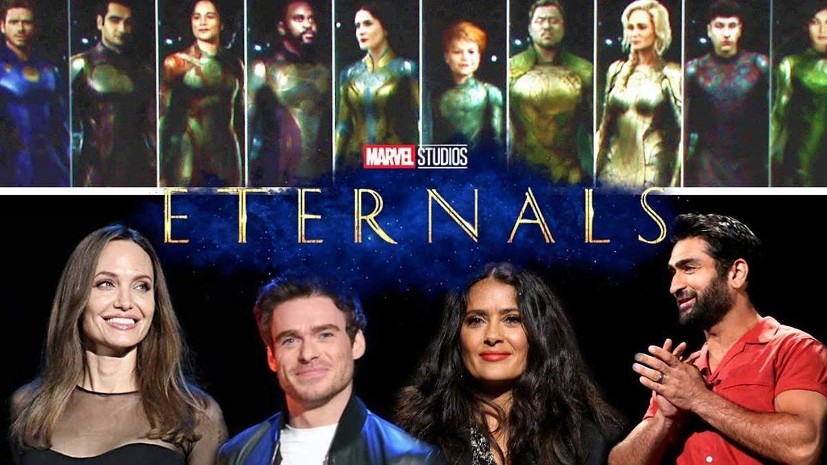 """Фільм """"Вічні"""": кілька секретів про новинку Marvel"""