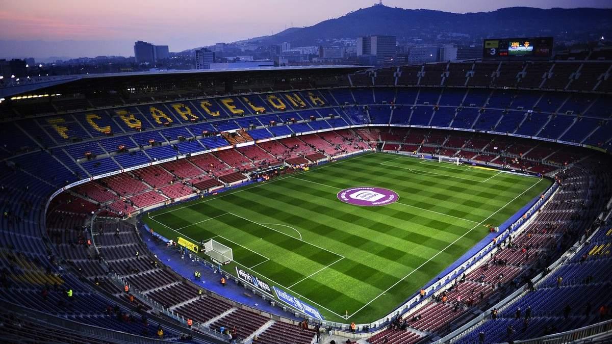 """Матч """"Барселона"""" – """"Наполи"""" на стадионе """"Камп Ноу"""" состоится без зрителей"""