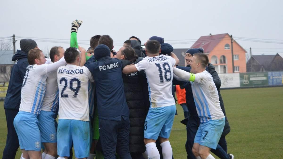 """Воротар """"Минаю"""" відбив три пенальті у матчі Кубка України"""