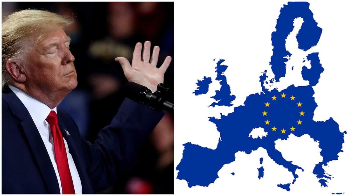 Трамп оголосив про обмеження сполучення з Європою