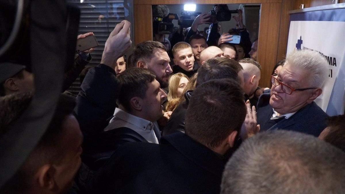 Сивохо прокомментировал драку на презентации платформы примирения