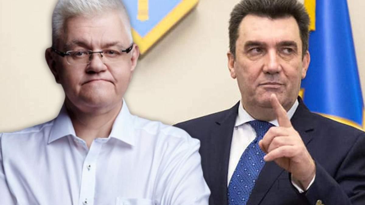 Сергій Сивохо і Олексій Данілов