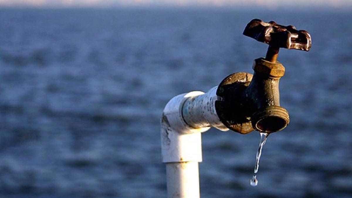 У Раду внесли заяву щодо спроб відновлення водопостачання до Криму