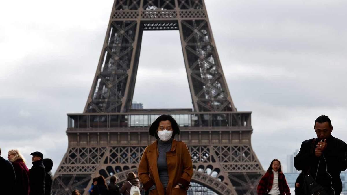 Карантин 2020: Франція ввела протиепідемілогічні заходи