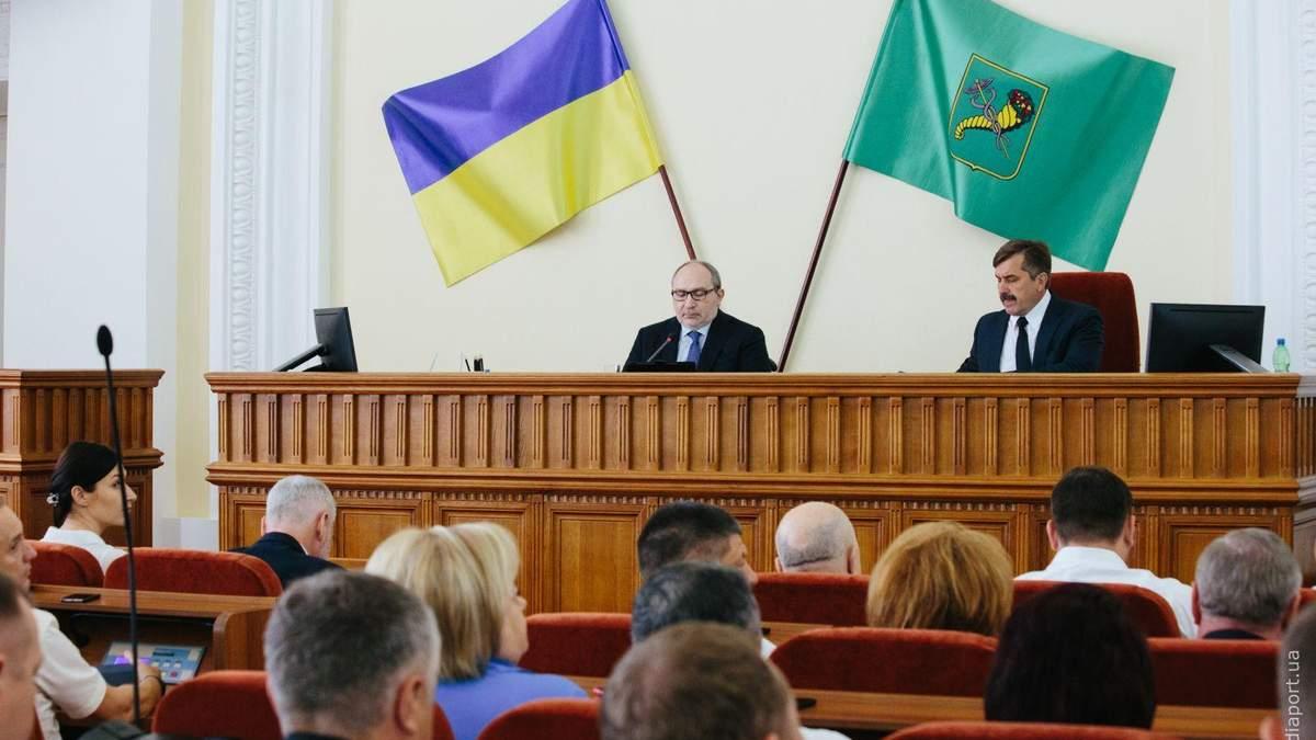 Геннадій Кернес у Харківській міськраді