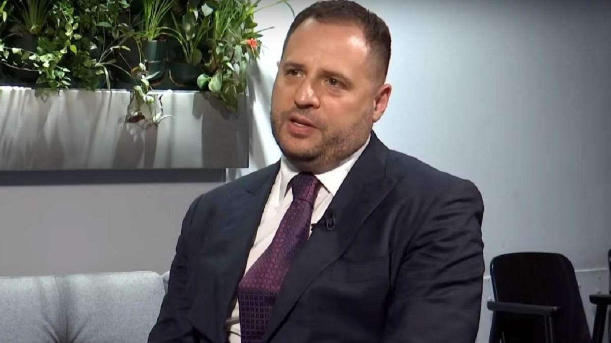 """Єрмак заявив, що у мінському процесі """"червоні лінії"""" не перейдуть"""