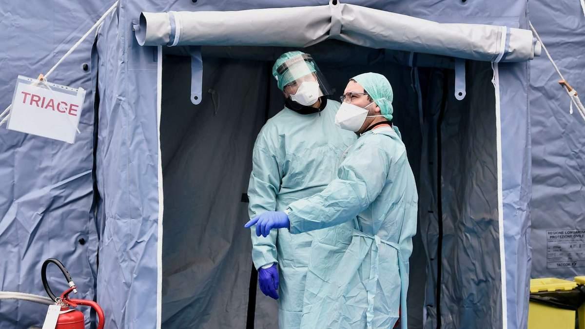 Коронавірус вбив пнад тисячу людей в Італії
