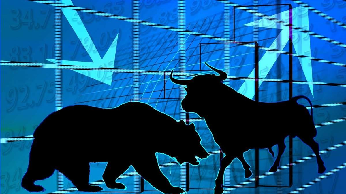 Ведмежий тренд на фондовому ринку США
