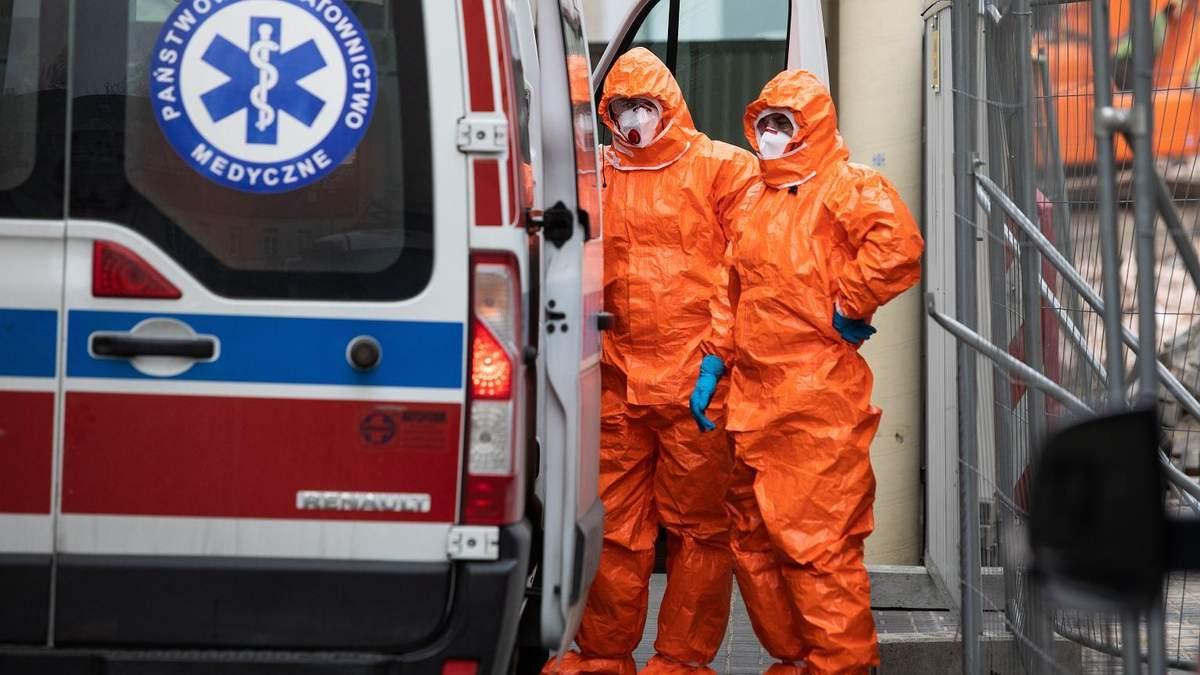 У двох українців у Польщі підтвердили коронавірус