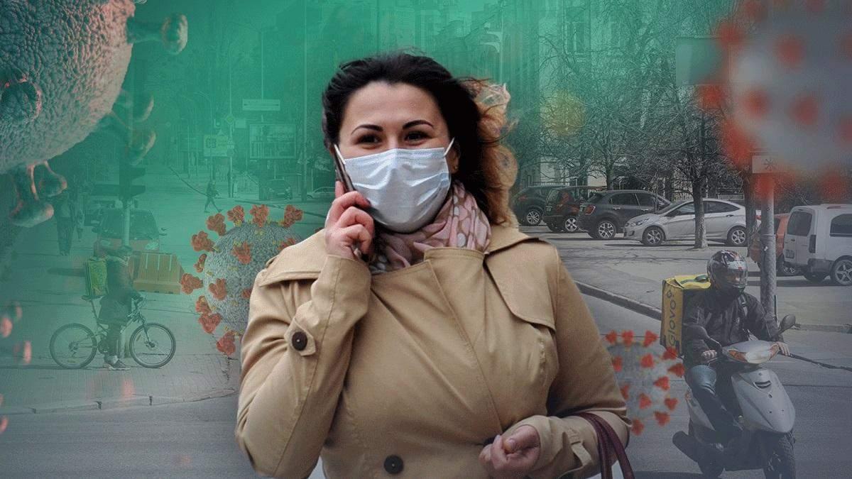 Коронавирус в Украине: количество больных идет на спад